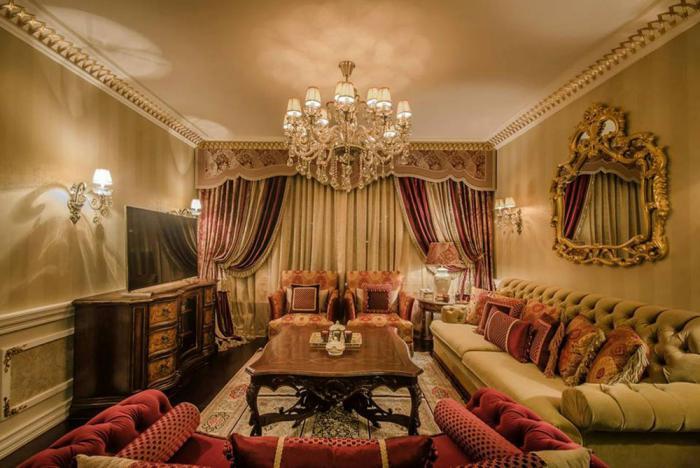 salon-marocain-moderne-aménagement-au-thème-marocain-fantastique-salle-de-séjour-chaleureux