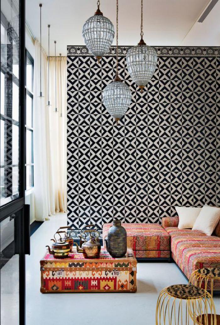 Salle De Bain Fushia Et Gris : Salon Moderne Marocain: Boutique Salon marocain /: décoration. Salon …