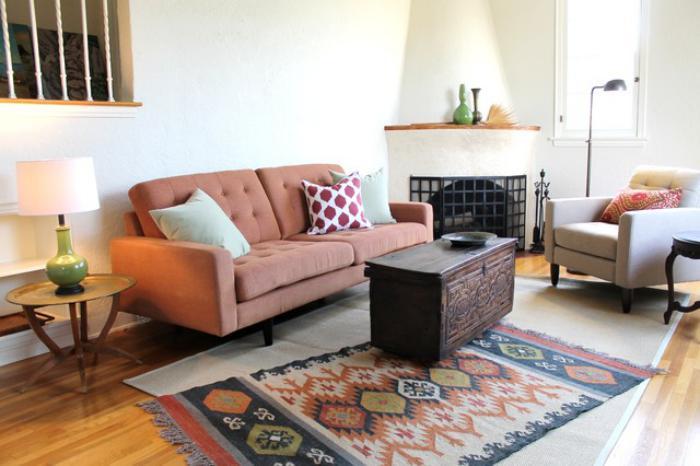 salon-marocain-moderne-déco-marocaine-simple-style-d'aménagement