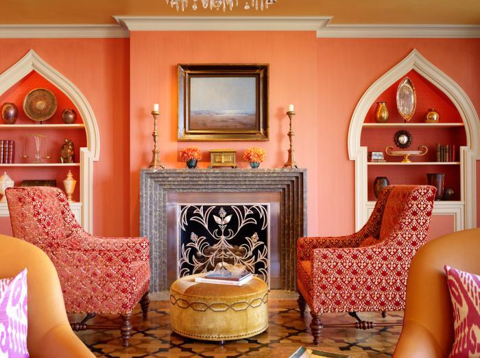 salon-marocain-moderne-idées-déco-murale-fantastiques-fauteuils-ethniques