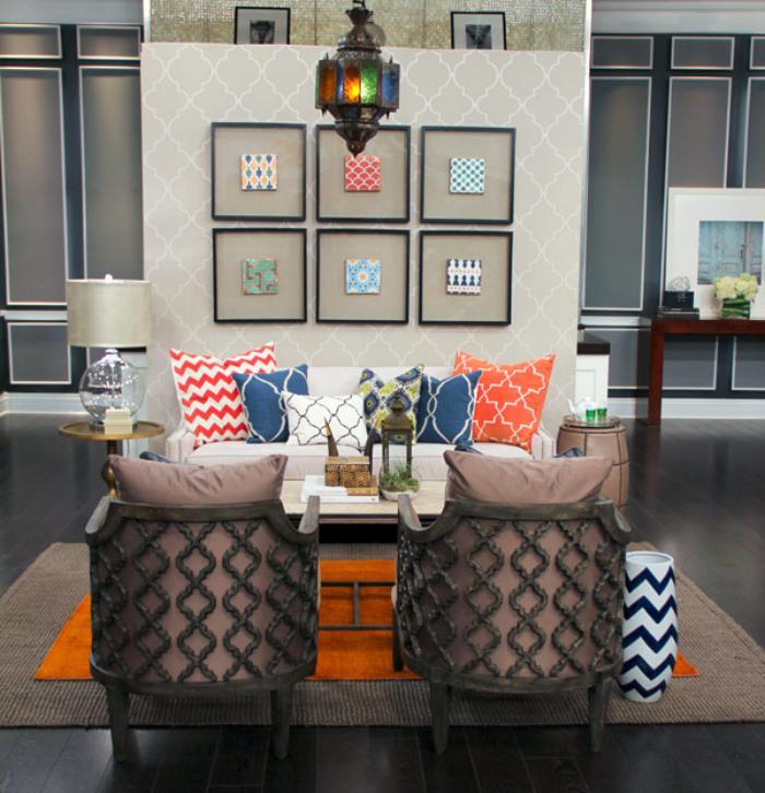 salon-marocain-moderne-salle-de-séjour-inspirée-par-le-style-marocain