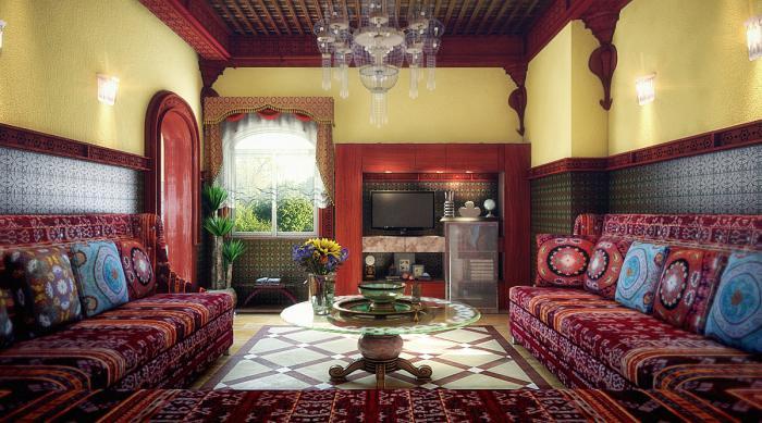 Salon marocain moderne nord ~ Solutions pour la décoration ...