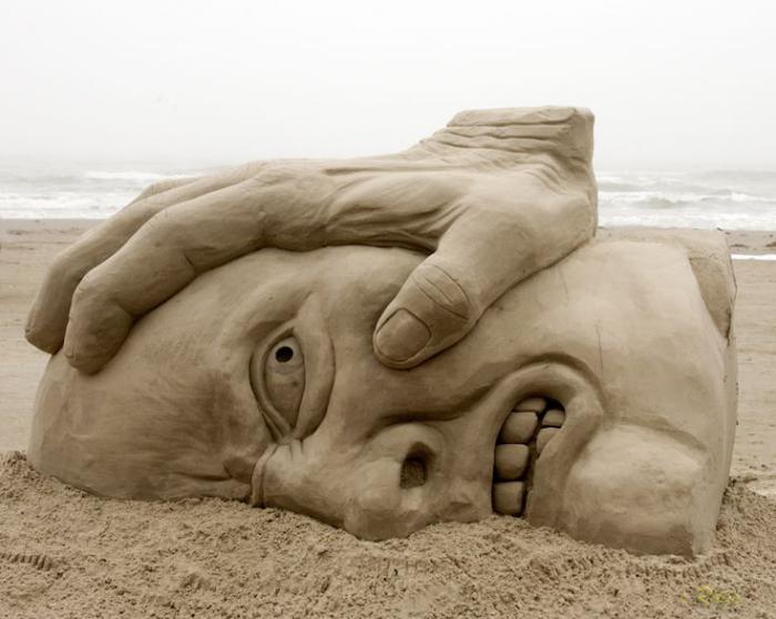 sculpture-de-sable-art-de-sable-unique
