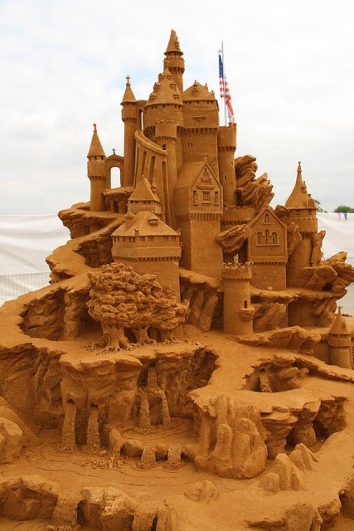 sculpture-de-sable-grand-château-de-sable
