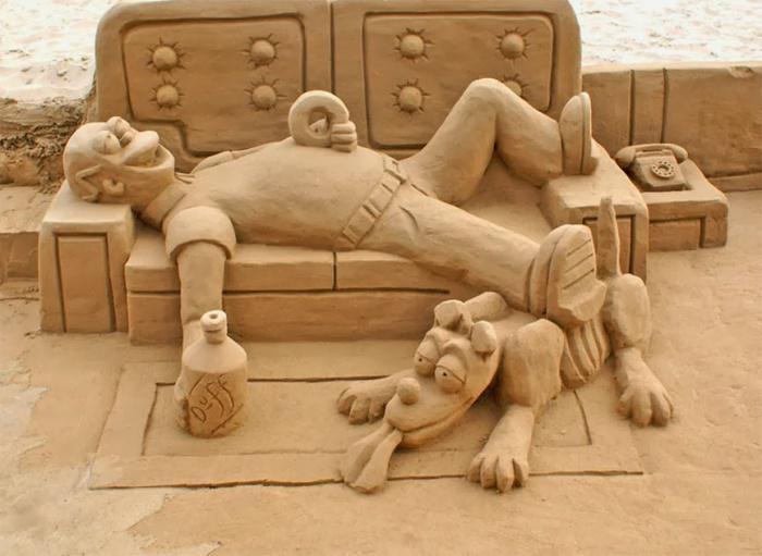 sculpture-de-sable-sculpture-sur-sable-(amusante