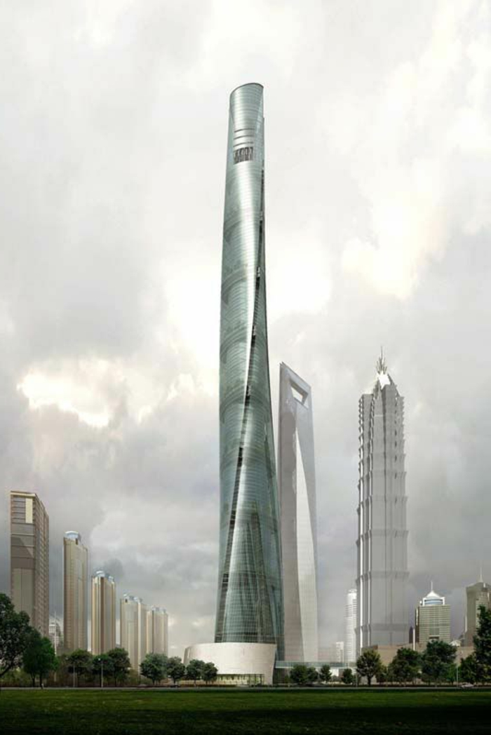 shanghai-tower-gratte-ciel-batiment-publique-joli-design-moderne-a-haute-batiment