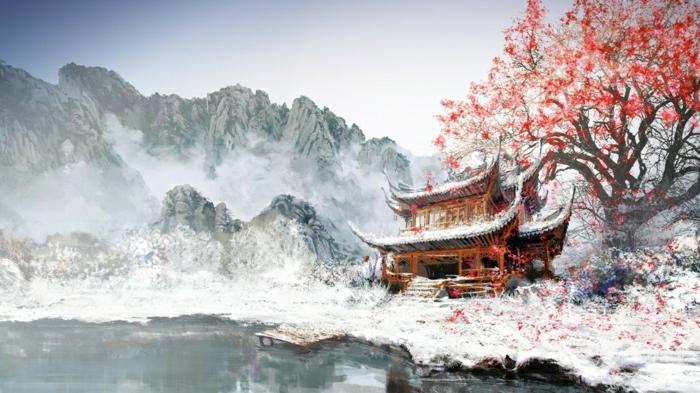 station-de-ski-alpes-image-nature-jolie-photo-professionnelle-arbre-japonais