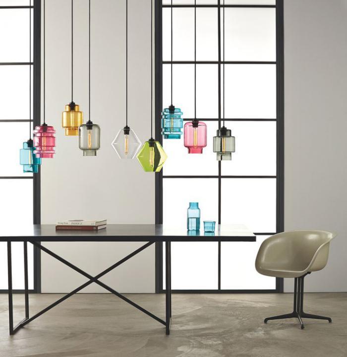 suspension-en-verre-lampes-en-verre-coloré-pour-l'intérieur
