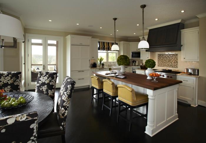 table-pliante-de-cuisine-étroite-table-ronde-à-manger-maison-de-luxe
