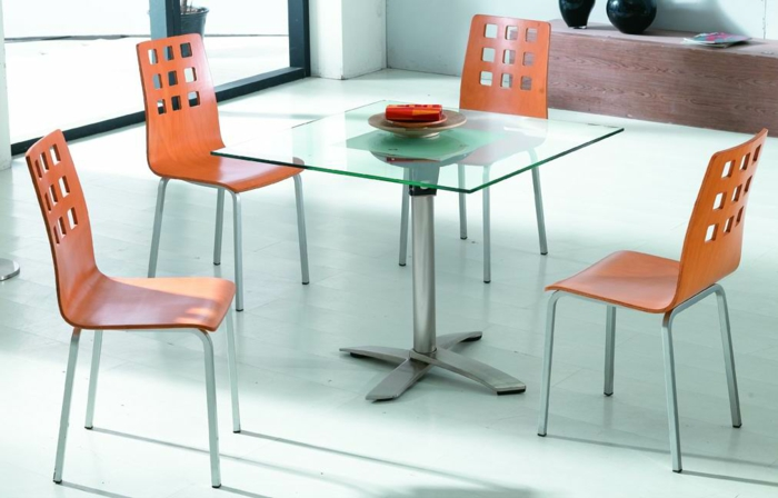 Tables de cuisine pliantes for Table de cuisine ikea en verre