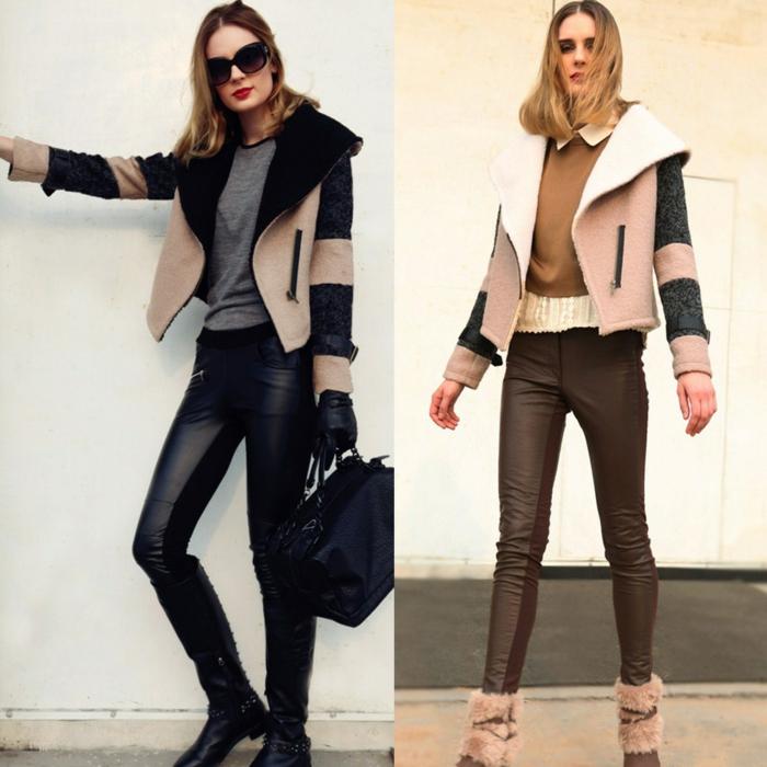 tendance-mode-automne-hiver-2015-veste-en-cuir-simili-mode-resized