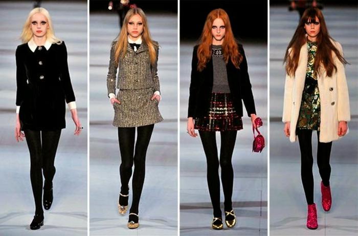 tendances-mini-jupe-vintage-mode-tendance-mode-automne-2015-2016-tendances automne hiver 2015