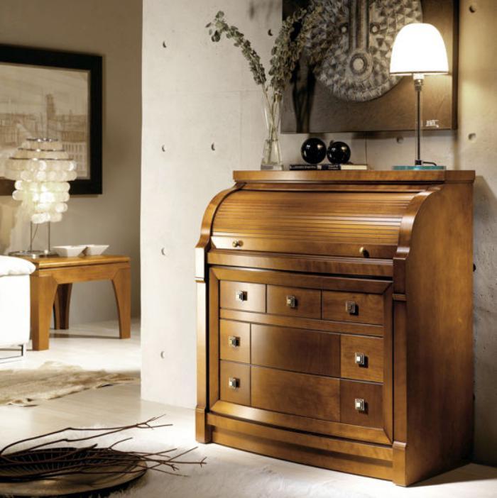 Le bureau secr taire un meuble classique et fonctionnel - Bureau secretaire bois ...