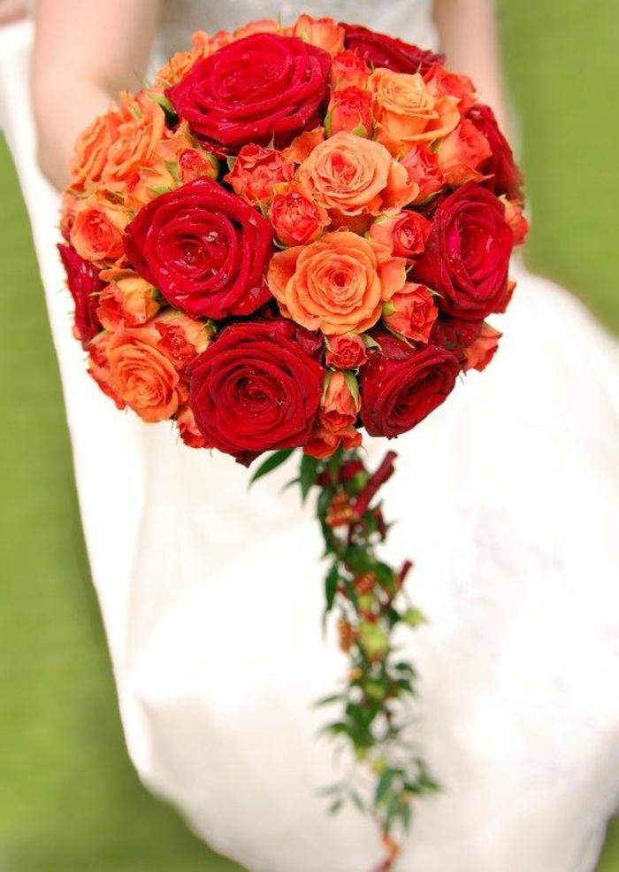 Pourquoi opter pour un bouquet de mari e rond - Comment faire un bouquet de fleurs ...