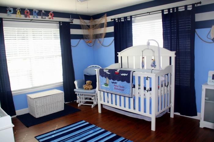 une-chambre-bébé-mixte-design-intérieur-aménagement-chambre-garçon