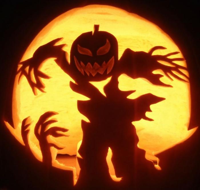 une-citrouille-halloween-dessin-modele-citrouille-halloween-cool-effrayant