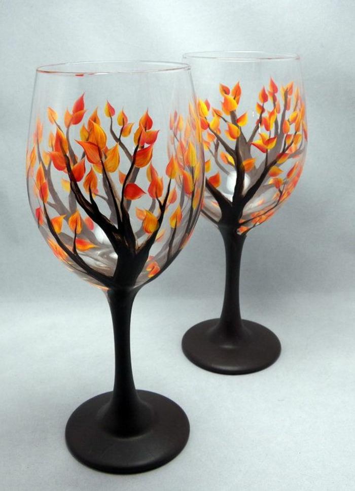 une-jolie-decoration-pour-vos-verres-à-vin-originaux-comment-decorer-les-verres-à_vin