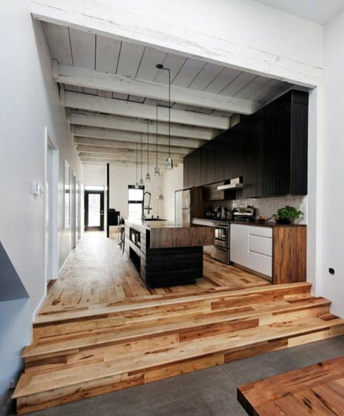 v33-rénovation-cuisine-sol-en-planchers-en-bois-clair-meubles-de-cuisine-modernes