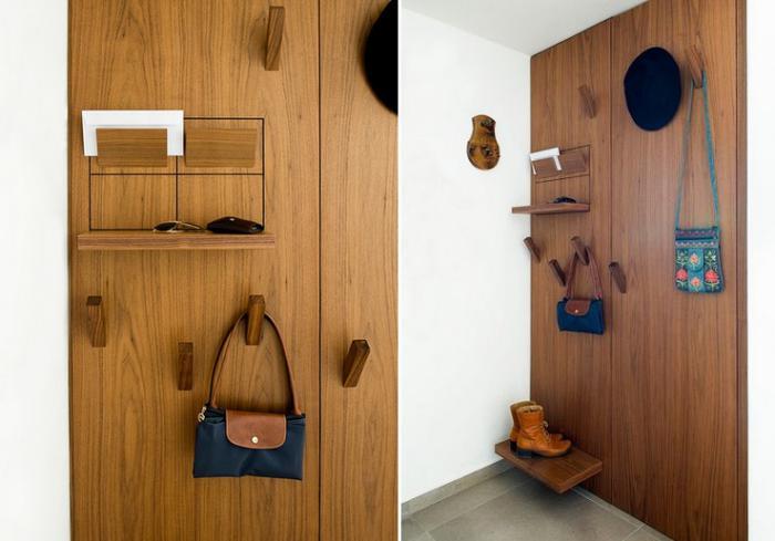 vide-poche-mural-contemporaine-étagère-bois