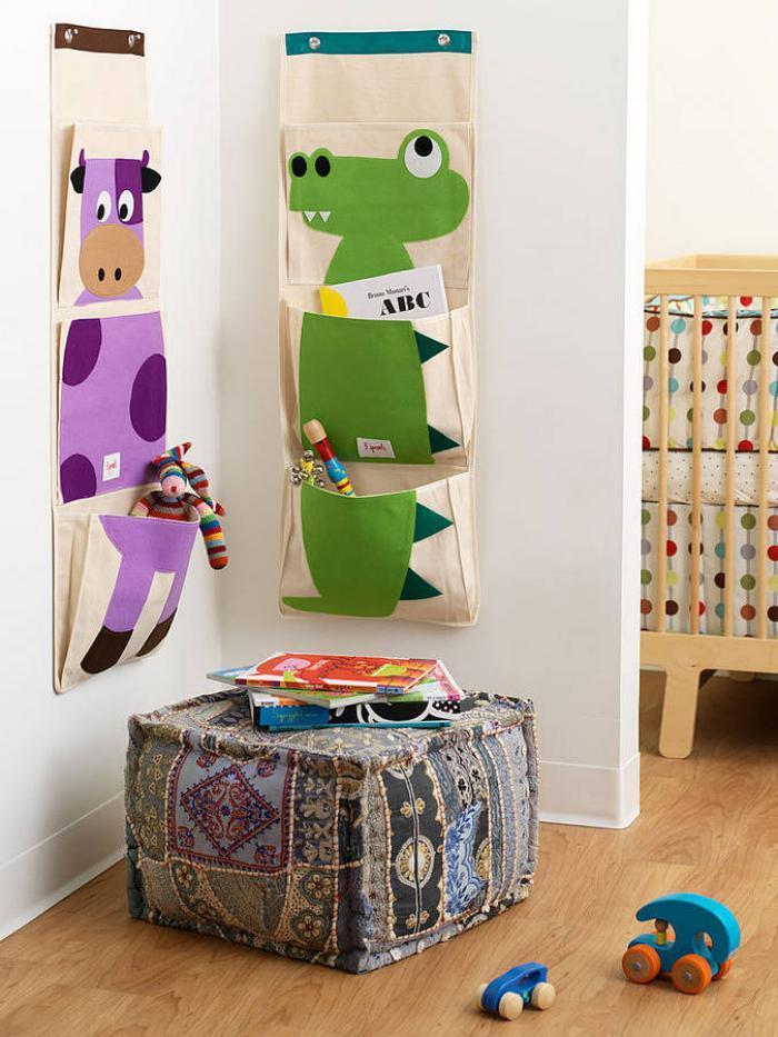 Le vide poche mural cr ez un rangement malin for Organisation chambre enfant