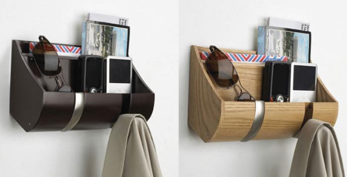 le vide poche mural cr ez un rangement malin. Black Bedroom Furniture Sets. Home Design Ideas