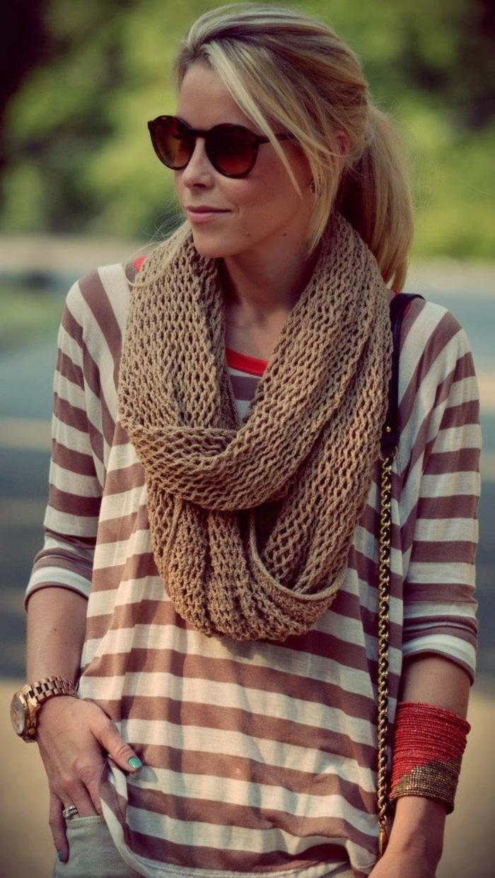 écharpe-tube-idée-en-tendance-hiver-2015-idée-tenue