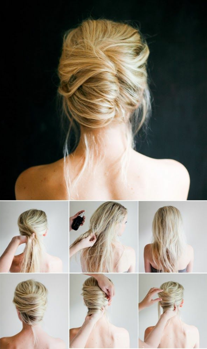 Simple hairstyle tutorial for long hair