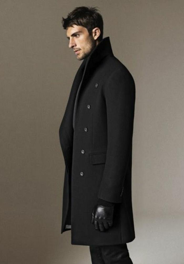 les tendances chez le manteau long homme en 48 photos. Black Bedroom Furniture Sets. Home Design Ideas