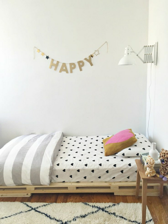 44 super id es pour la chambre de fille ado for Deco chambre simple