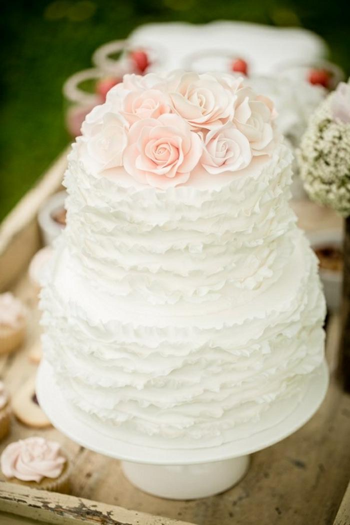 Comment choisir le gâteau de mariage de vos rêves? Voici nos idées:
