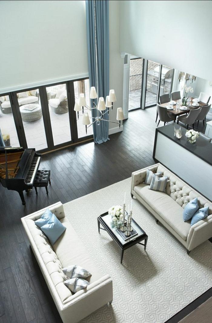 0-jolie-cuisine-d-esprit-loft-parquet-noir-canape-beige-en-cuir-table-de-salon-lustre