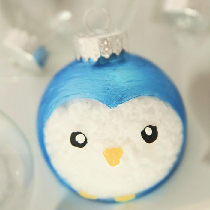 0-jolie-decoration-de-noel-avec-boules-de-noel-a-decorer-boule-de-Noël-en-forme-d-animal