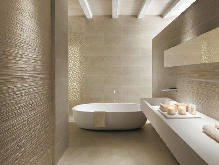 Carrelage mural salle de bain nature salle de bains - Carrelage salle de bain zen ...