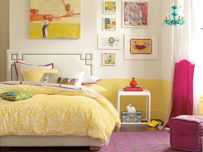 44 super id es pour la chambre de fille ado for Decoration de chambre de fille