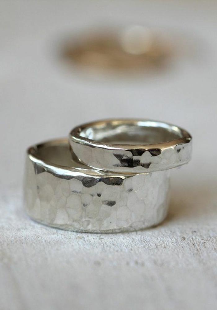 Bague de mariage pour homme cartier