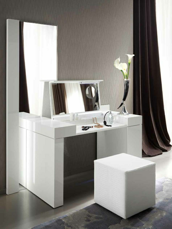 coiffeuse meuble avec miroir. Black Bedroom Furniture Sets. Home Design Ideas