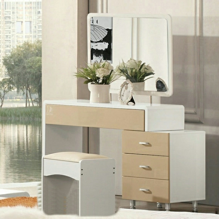 meuble coiffeuse pour chambre spcial petite commode. Black Bedroom Furniture Sets. Home Design Ideas