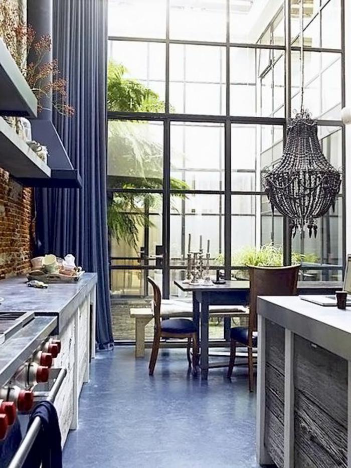 rideaux de cuisine originaux latest les meilleures ides. Black Bedroom Furniture Sets. Home Design Ideas