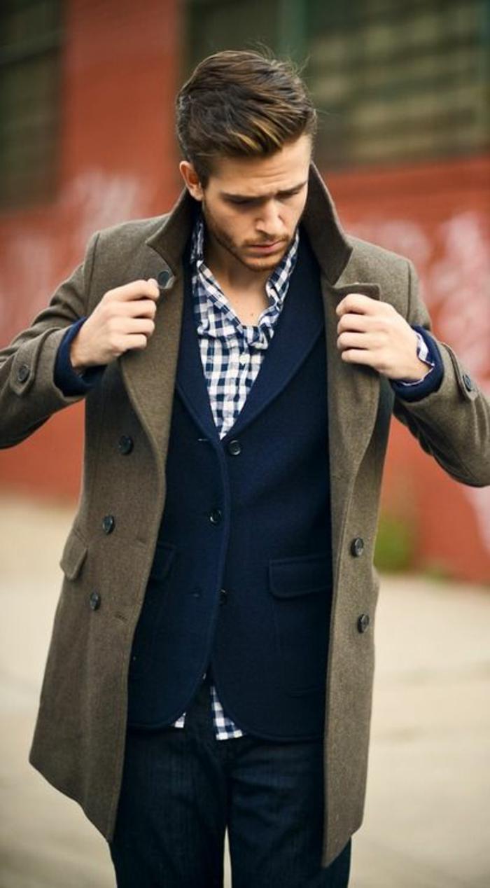 Les tendances chez le manteau long homme en 48 photos - Comment s habiller classe homme ...