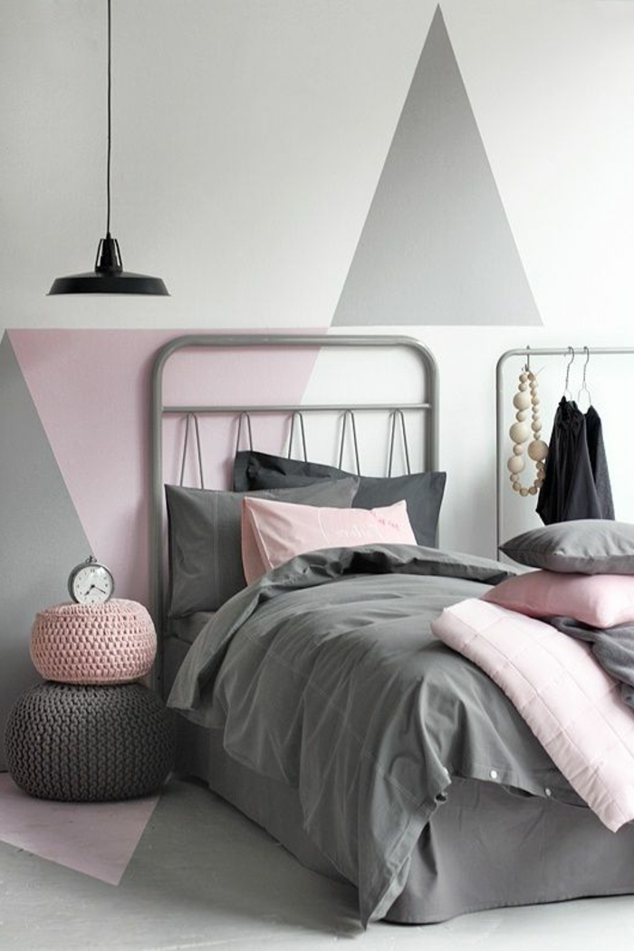 44 super id es pour la chambre de fille ado for Decoration chambre de fille