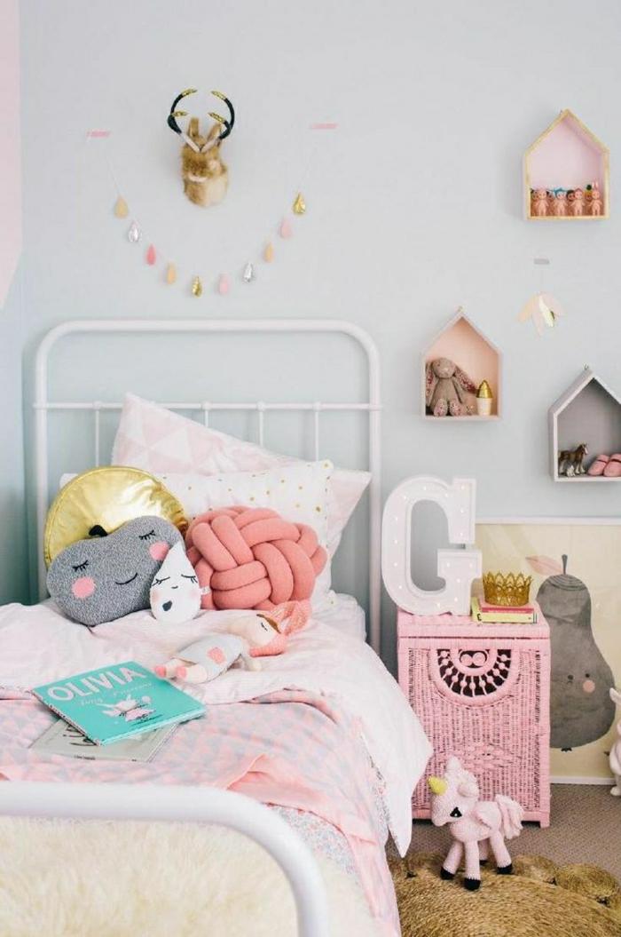 44 super id es pour la chambre de fille ado - Idee couleur chambre fille ...