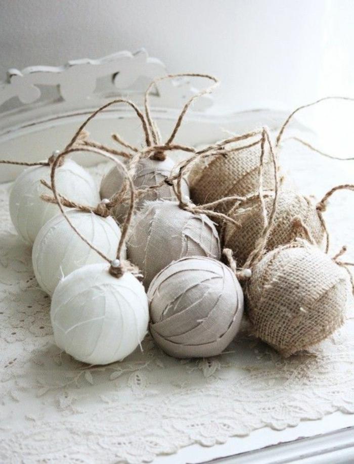 48 diy id es pour cr er une boule de no l originale - Comment faire une decoration de noel en papier ...