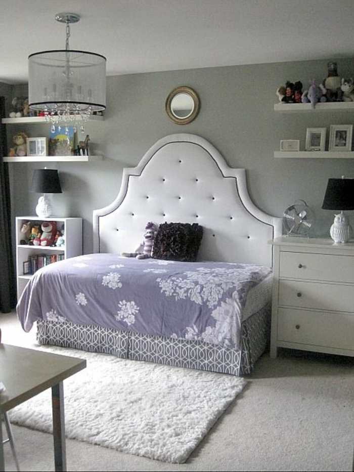 44 super id es pour la chambre de fille ado. Black Bedroom Furniture Sets. Home Design Ideas