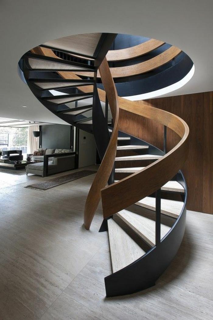 L 39 escalier tournant en 40 jolies photos Escalier quart tournant haut pas cher