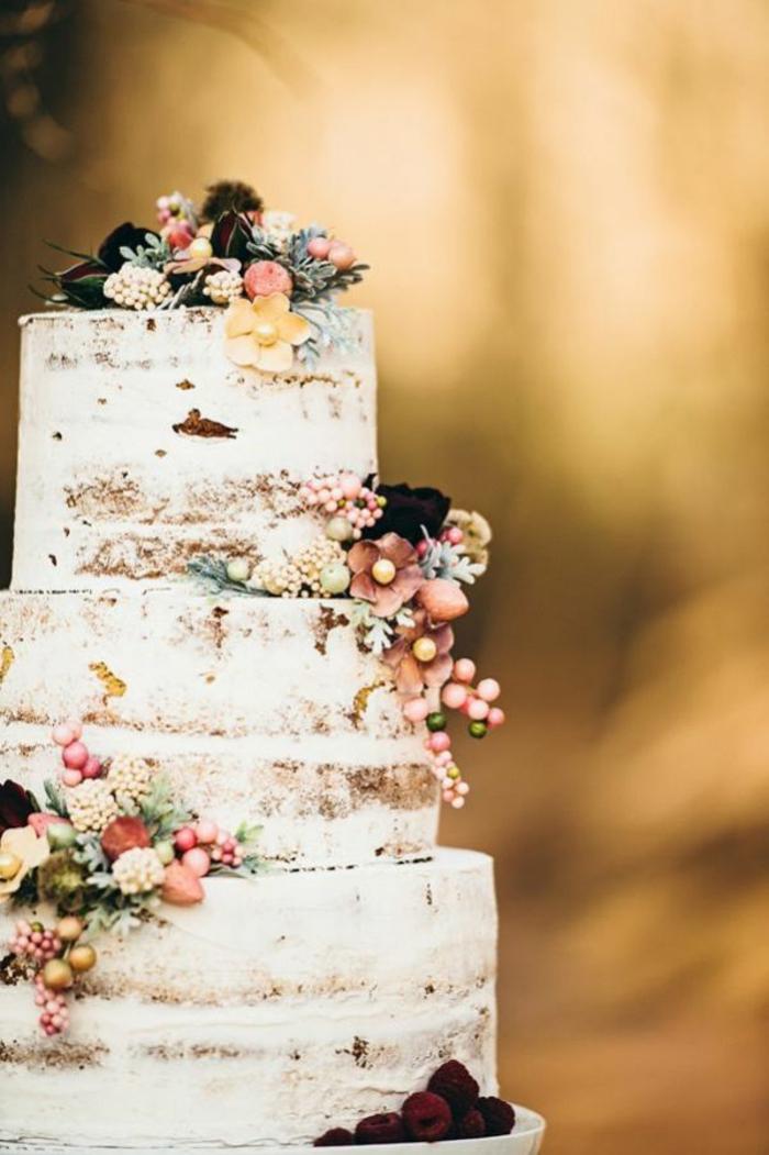 joli-gateau-de-mariage-pièce-montée-coux-mariage-wedding-cake-avec ...