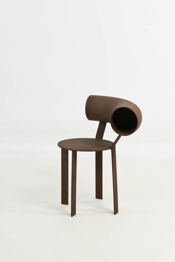 1-joli-modele-de-chaise-cabriolet-marron-en-bois-de-couleur-marron-foncé