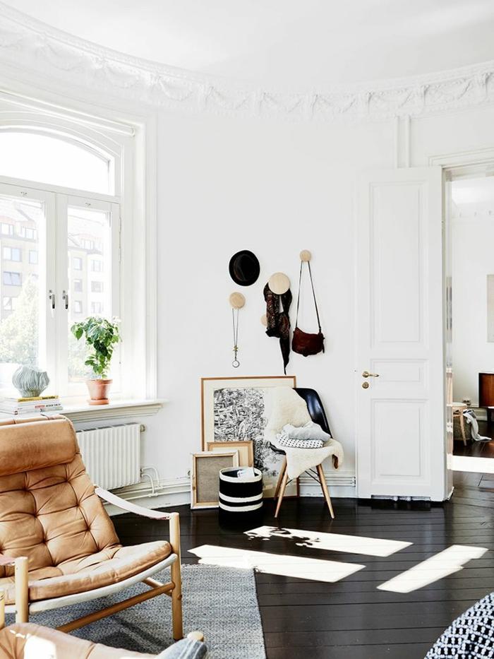 Salon avec parquet gris les derni res id es for Salon avec parquet