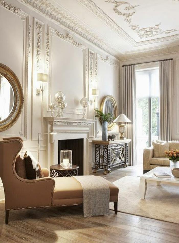 1-joli-salon-d-esprit-baroque-avec-moulures-decoratives-avec-corniche-plafond-et-sol-en-parquet-et-fauteuil-marron