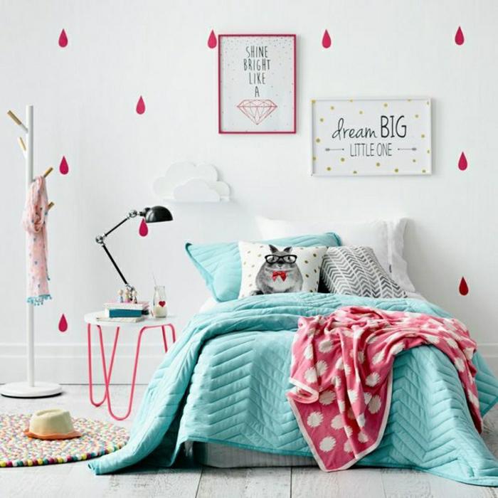 44 super id es pour la chambre de fille ado - Comment decorer sa chambre d ado ...