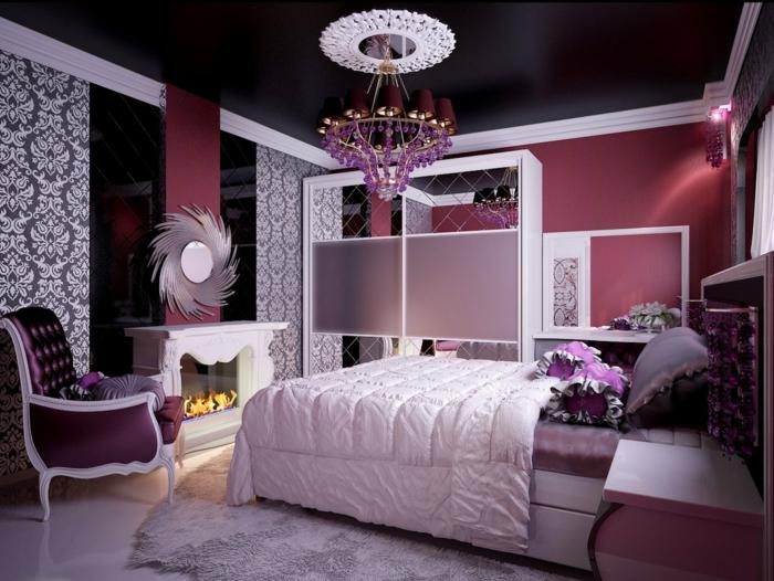 Chambre Ado Fille Moderne Violet – Chaios.com
